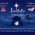 Concert Colinde – Biserica Evanghelică Română Rotterdam